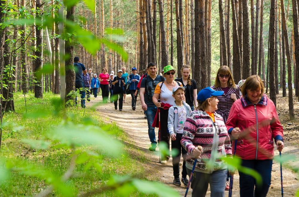 Всероссийский день ходьбы вТюмени 2018