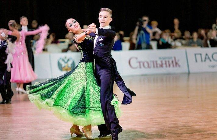 Соревнования потанцевальному спорту наКубок ТСК «Пионер»