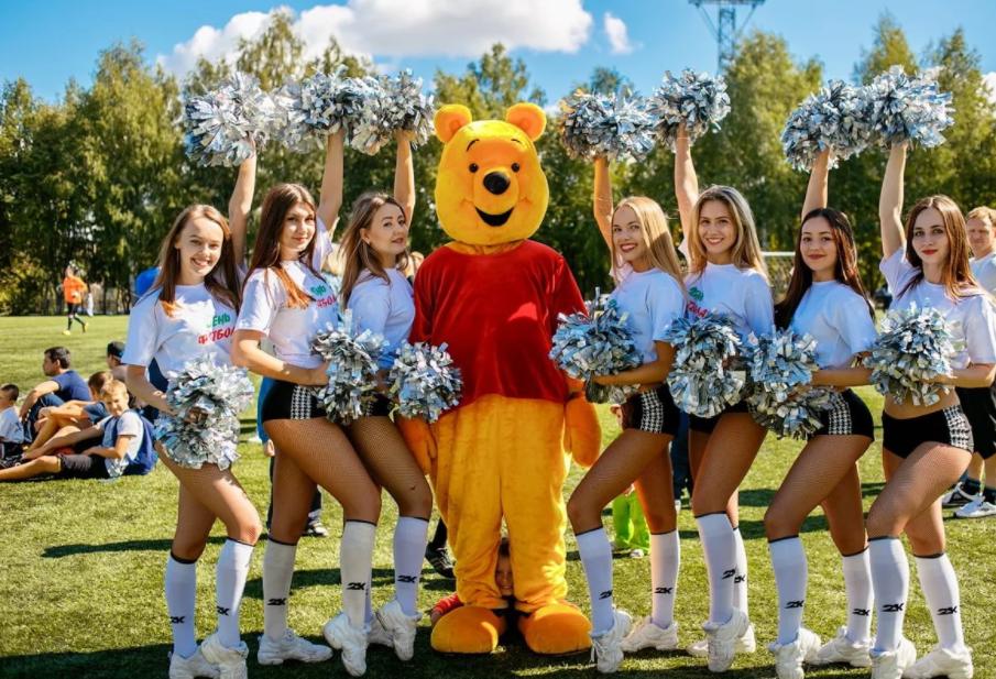 Городской праздник «День Футбола 2017» вТюмени