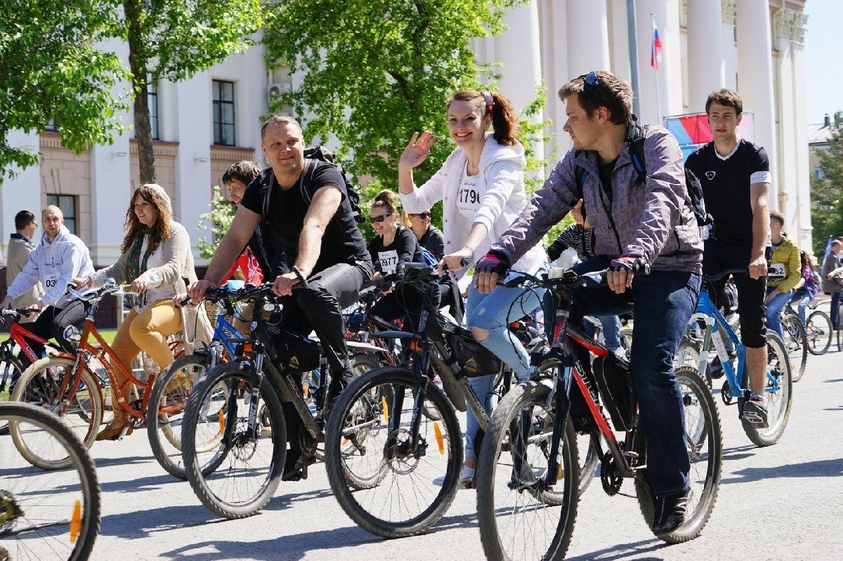 Всероссийский велопарад вТюмени 2018