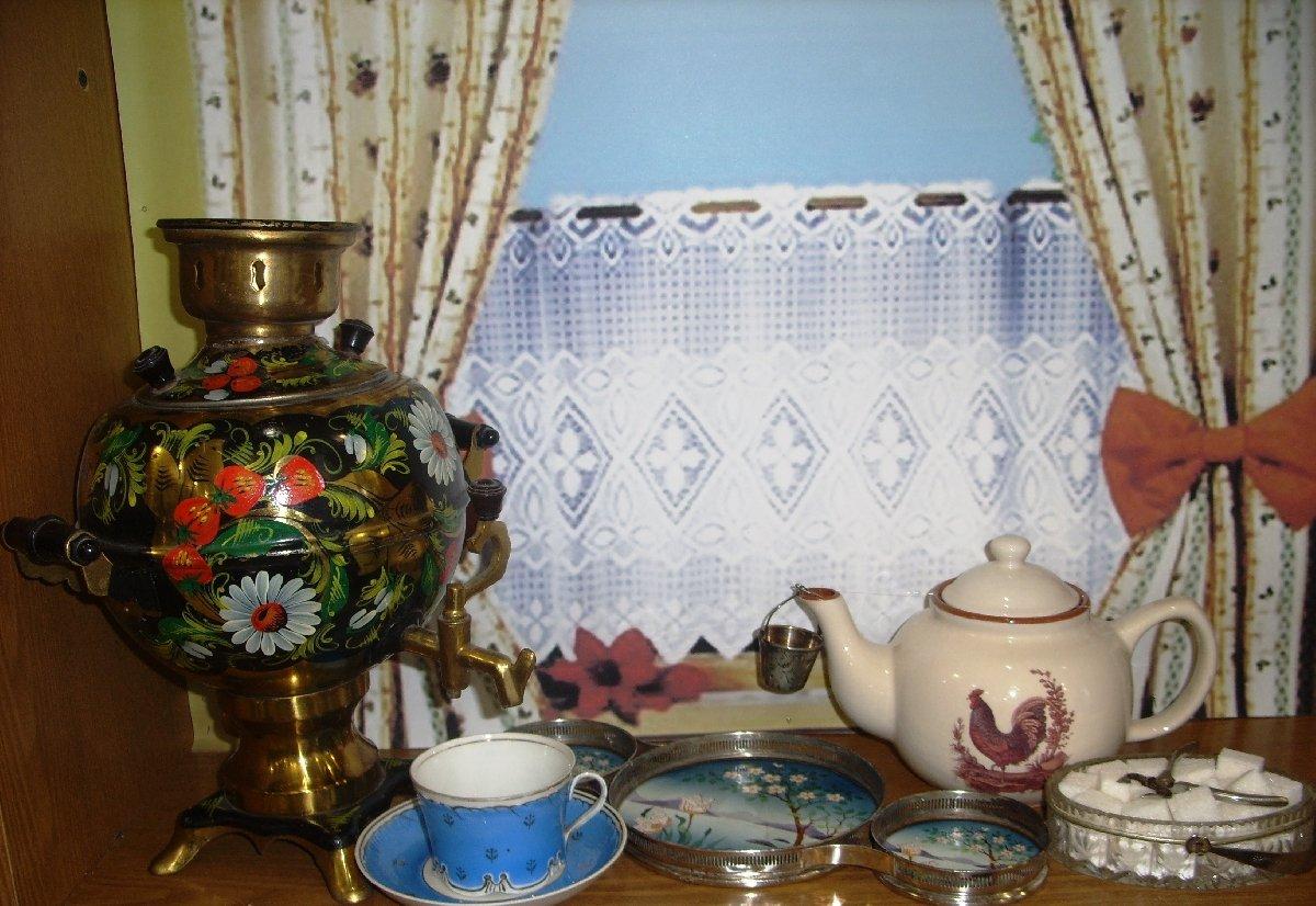 Выставка «Вокруг чая»