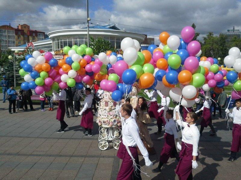 День города Тюмени наЦветном Бульваре 2017