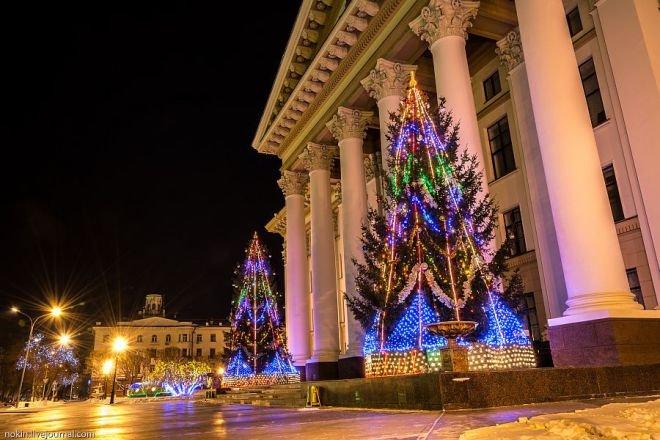 Новогодние праздники вТюмени 2018
