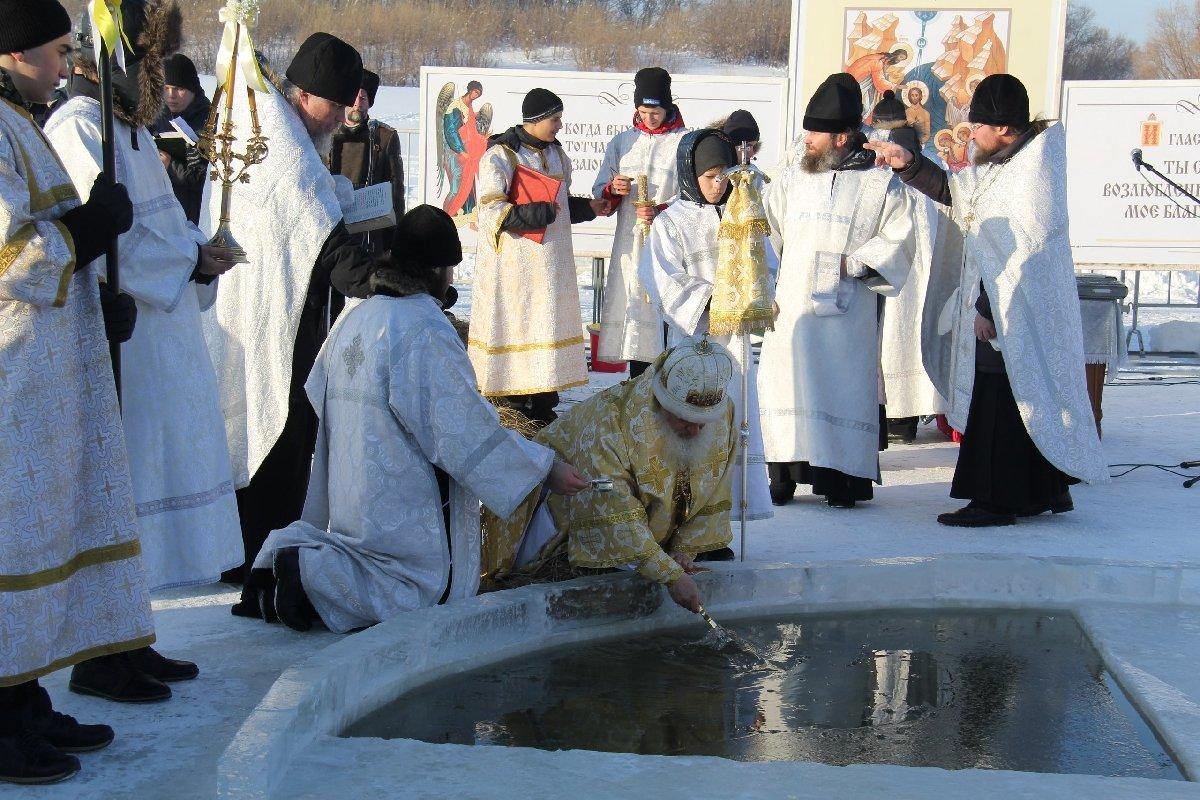 Крещенские купания вТюмени 2018