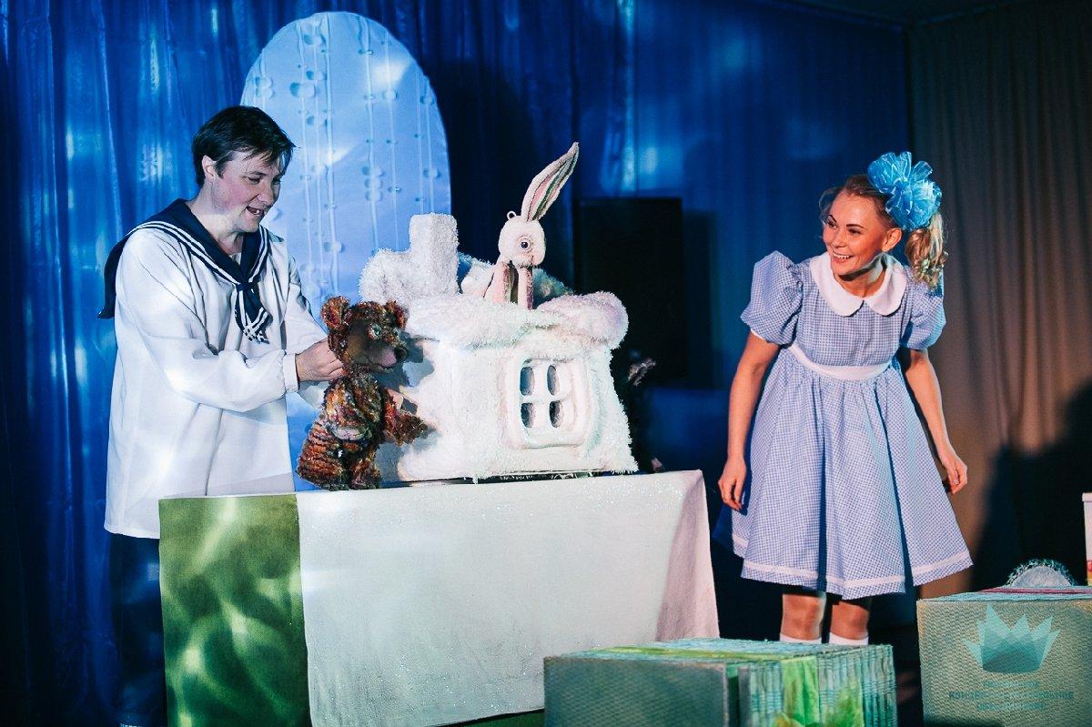 Кукольный спектакль «Мишуткина ёлка»