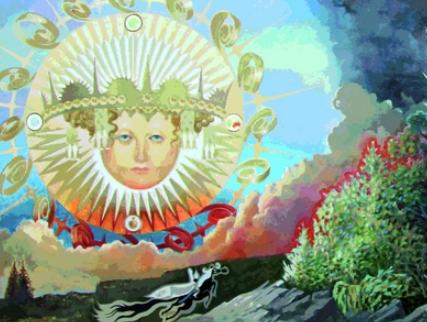 Выставка «Библейские истории исказки вкартинках. Андрей иМихаил Рудневы»