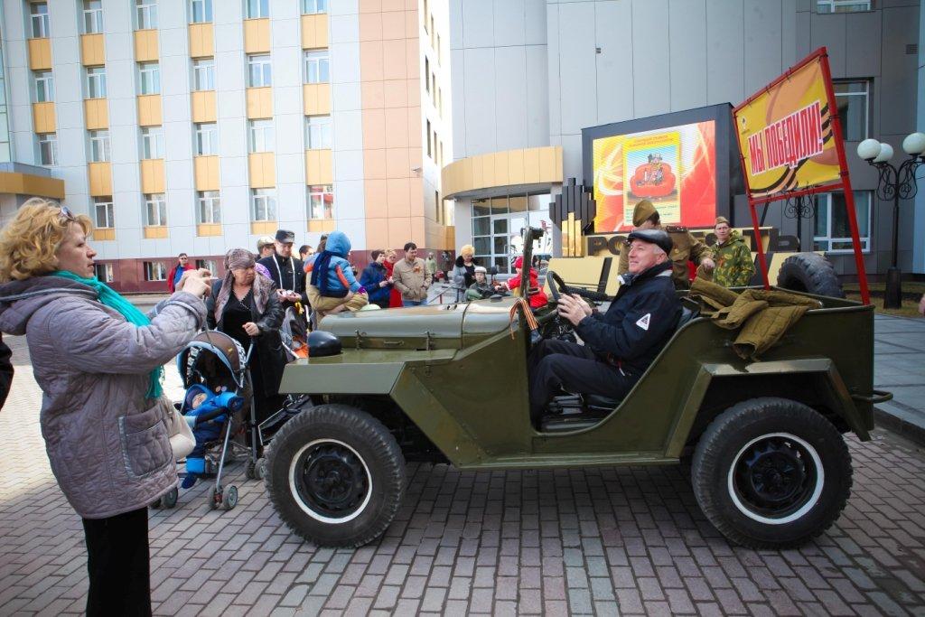 День Победы вТюмени 2017