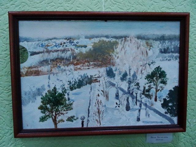 Выставка картин Ольги Даниловой-Пушкарь