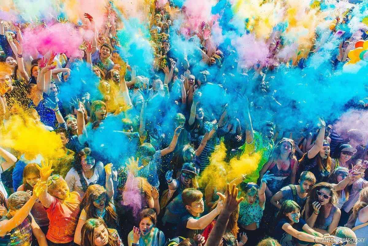Всероссийский Фестиваль красок вТюмени 2017