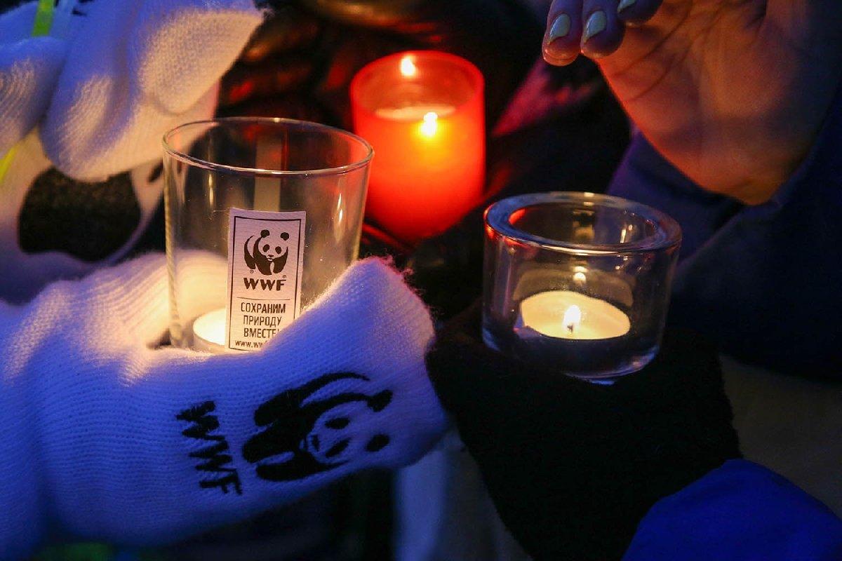Акция «Час Земли» вТюмени 2018