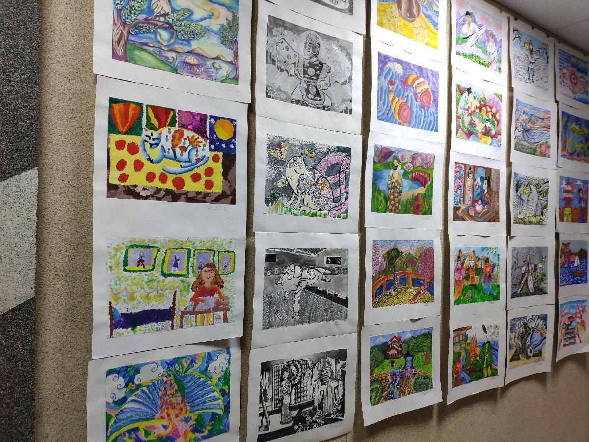 Выставка «Японские мотивы. Дети рисуют Японию»