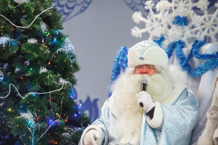 Встреча Деда Мороза изВеликого Устюга 2017