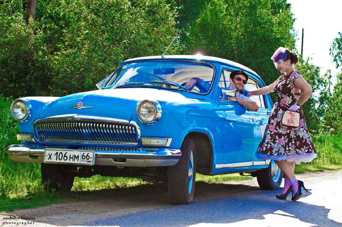 Выставка ретро автомобилей уТЦ «Фаворит»
