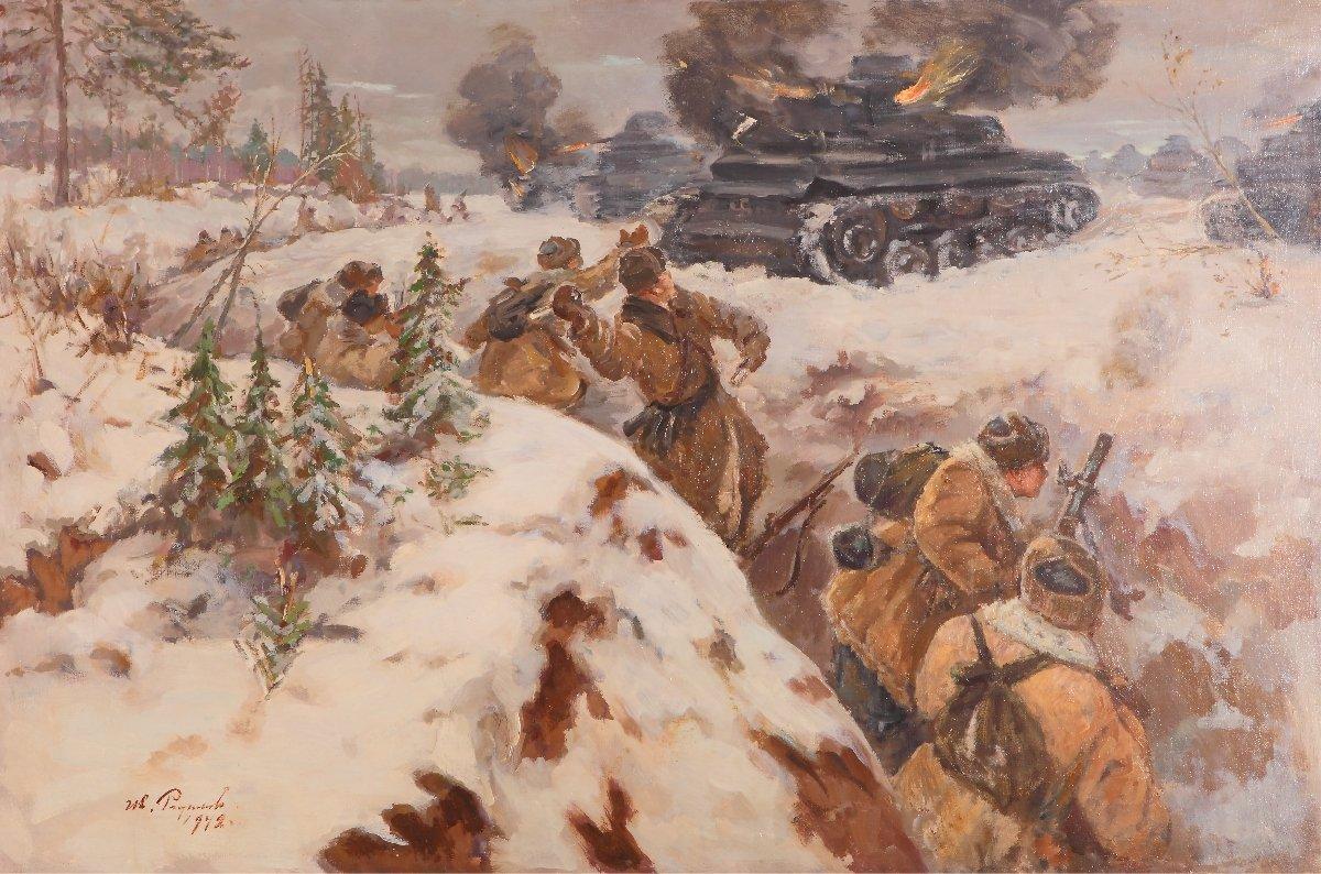 Выставка «Память поколений: Великая Отечественная война визобразительном искусстве» вТюмени