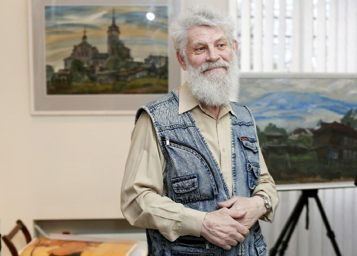 Мини-выставка картин Юрия Рыбьякова вЛитературно-краеведческом центре