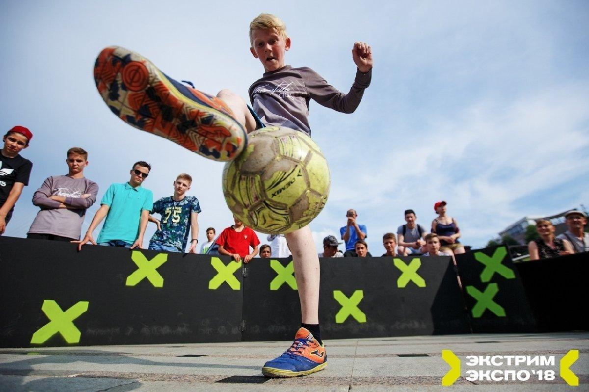 Чемпионат России пофутбольному фристайлу «Subway street champions» 2019