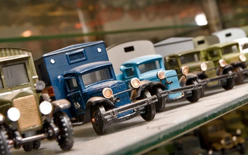 Выставка «Моделей автомобилей 1920–1950 годов»