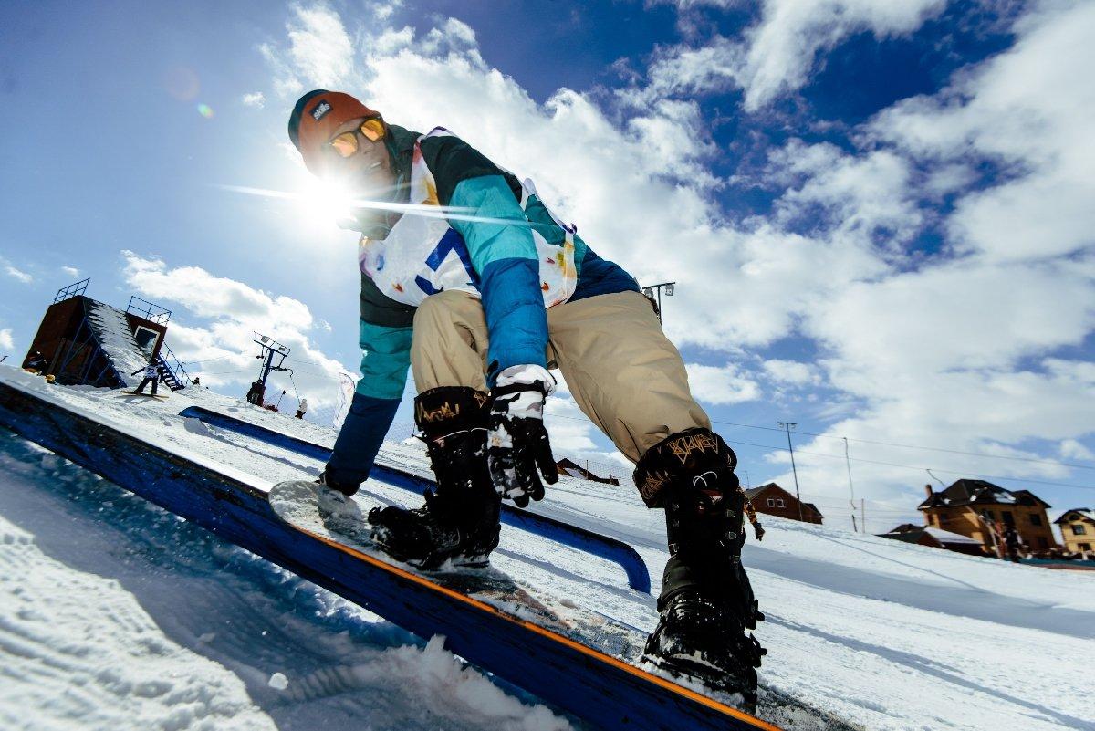 сноуборд фото с горки ваш персонал