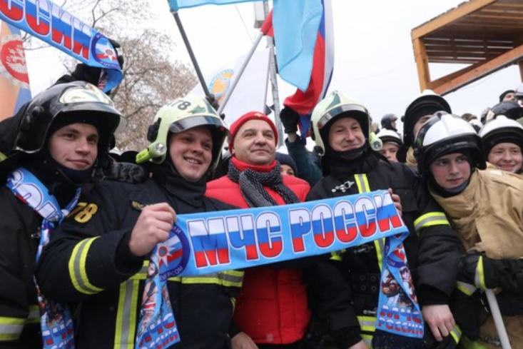 Пожарно-спасательный флэшмоб
