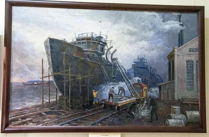 Выставка «Покорители сибирских рек»